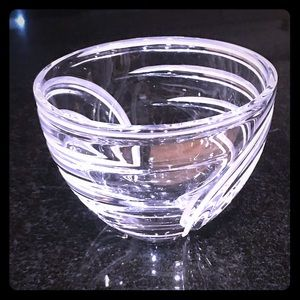"Marquis by Waterford 6"" Crystal Artesia Swirl Bowl"